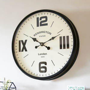 Kensington Station Clock - new in home