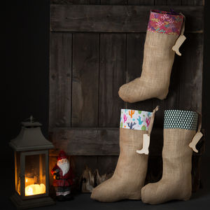 Gardening Christmas Stocking - stockings & sacks