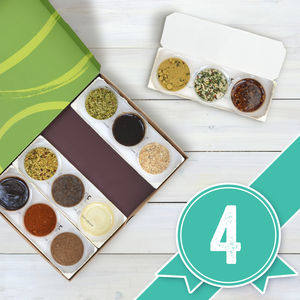 Four Month Recipe Discovery Experience - sauces & seasonings