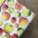 Apples Teacher Gift Wrapping Paper Set