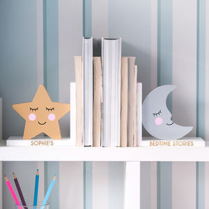 Personalised Nursery Bookends - living room