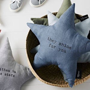 'They Shine For You' Linen Cushion - view all new