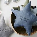 'They Shine For You' Linen Cushion