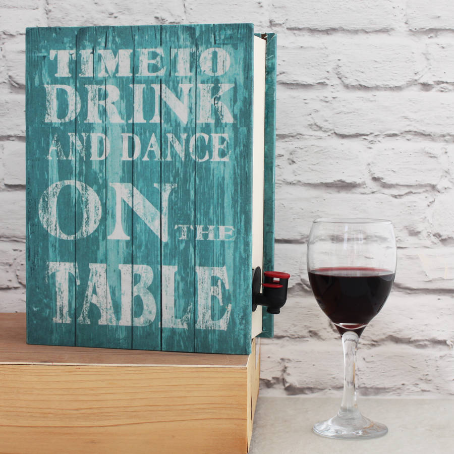 time to 'dance' wine box cover up by posh totty designs interiors ...
