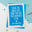Personal Message Anniversary Or Valentines Card