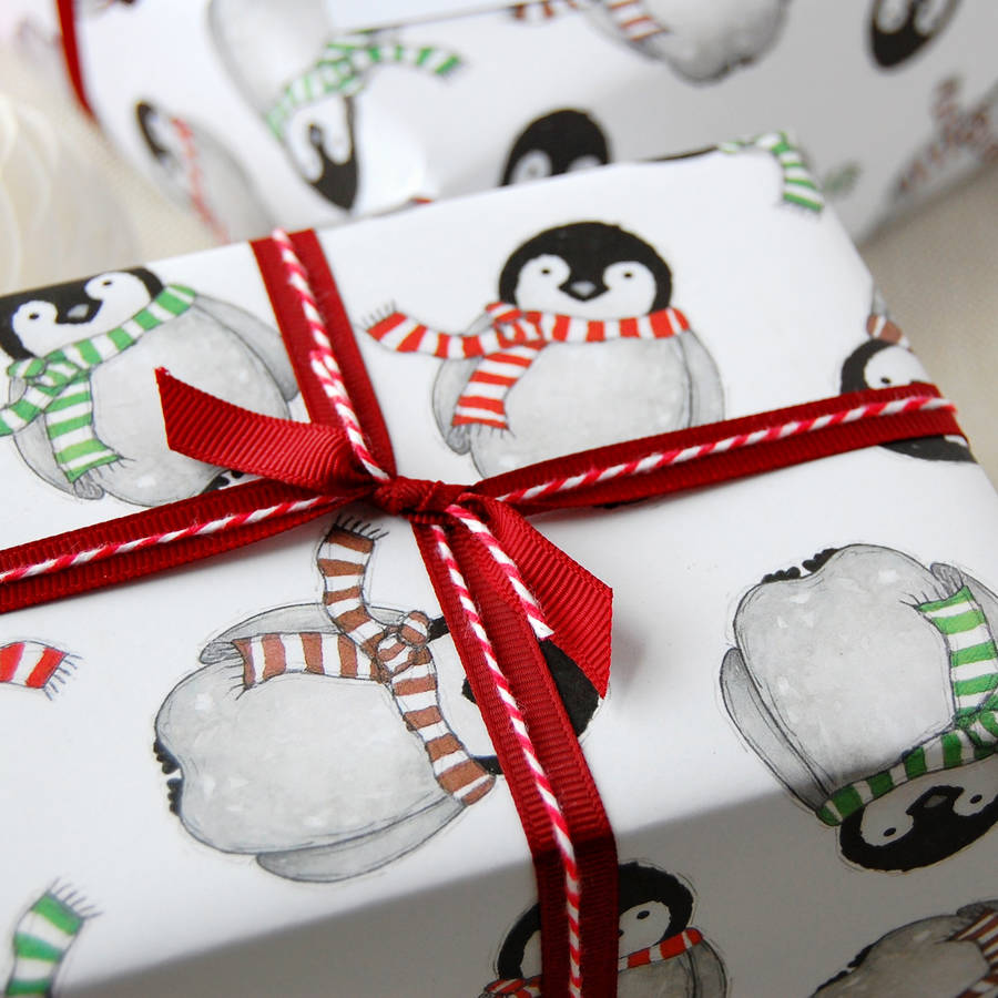 penguin wrapping paper You're reviewing: festive penguins jumbo rolled gift wrap and labels your rating overall 1 star 2 stars 3 stars 4 stars 5 stars festive penguins labels in stock.