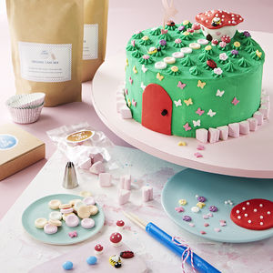 Fairy Garden Birthday Cake Kit - cakes & cupcakes