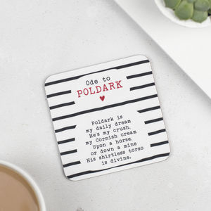 Ode To Celebrity Men Coasters