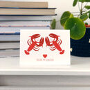 You're My Lobster Friends Tv Show Card