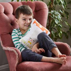 Alphabet Cushion - children's room