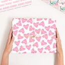 Personalised Mother's Day Heart Wrapping Paper