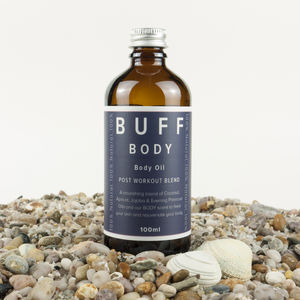 Buff Body Body Oil Post Work Out Blend - what's new