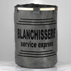 Express Service Grey Laundry Store - laundry bags & baskets
