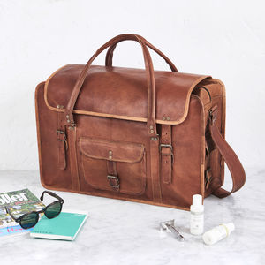 Leather Weekend Bag
