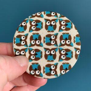 Geometric Owls Compact Mirror