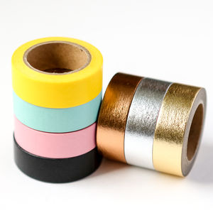 Plain Washi Tape - gift wrap sets