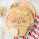 Personalised Cheese Board for Couples