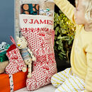 Personalised Christmas Stocking Set