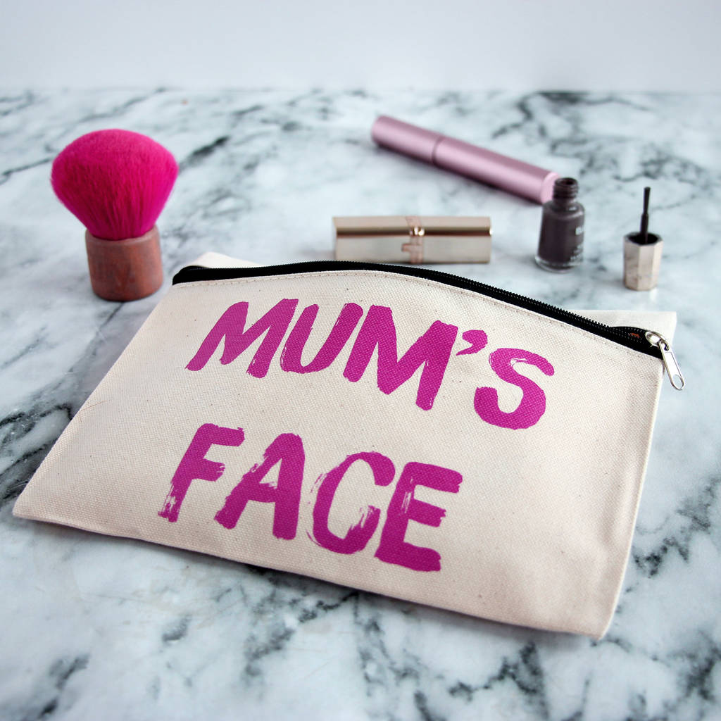 Personalised Lipstick Writing Make Up Pouch