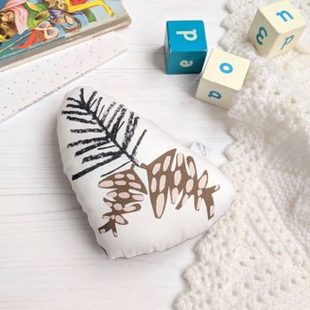 Pinecone Baby Rattle