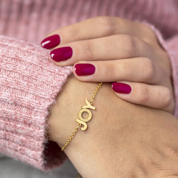 Wear It With Joy Bracelet