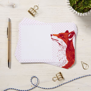 Fox Note Cards - whats new
