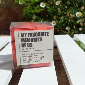 Origami 'My Favourite Memories Of Us'