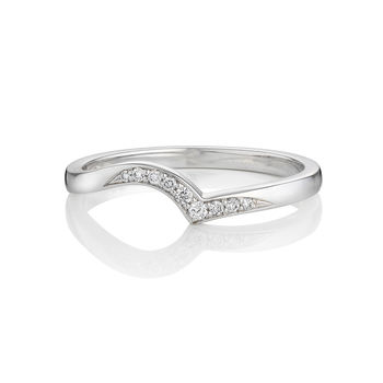 Sea Foam Diamond Ring