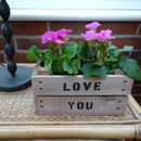 Personalised Wooden Mini Crate