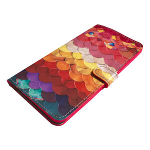 Rainbow Leather Smartphone Case