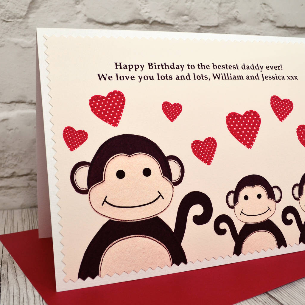 Large A5 Personalised Birthday Card From Children Or Grandchildren By Jenny Arnott Carsd And Gifts