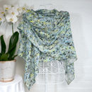'Heading North' Large Luxury Scarf Wrap