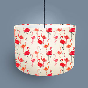 Flamingo Lampshade Made For Ceiling Or Lamp - lampshades