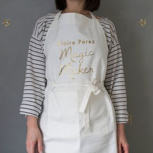 Personalised Magic Maker Apron