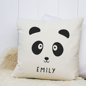 Personalised 'Panda' Cushion - baby's room