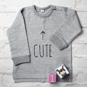 Cute Sweatshirt - babies' jumpers