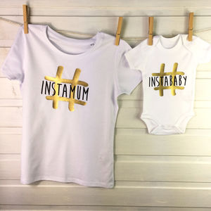 Instamum And Instababy Mother And Child Set - clothing