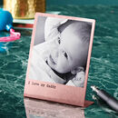 Personalised Solid Copper Photo Print