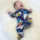 London Themed Baby Sleepsuit