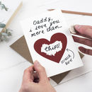 Personalised Fathers Day Scratch Card