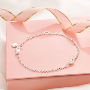 June Pearl Birthstone Bracelet