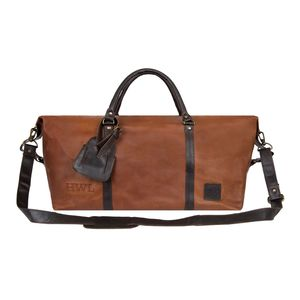 Personalised Two Tone Leather Armada Duffle Holdall - holdalls & weekend bags