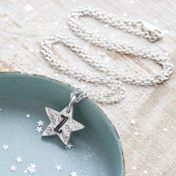 Personalised Star Initial Necklace