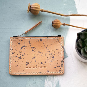 Handmade Leather Flick Purse