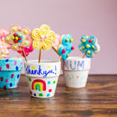 Personalised Children's Flowerpot Bake And Craft Kit