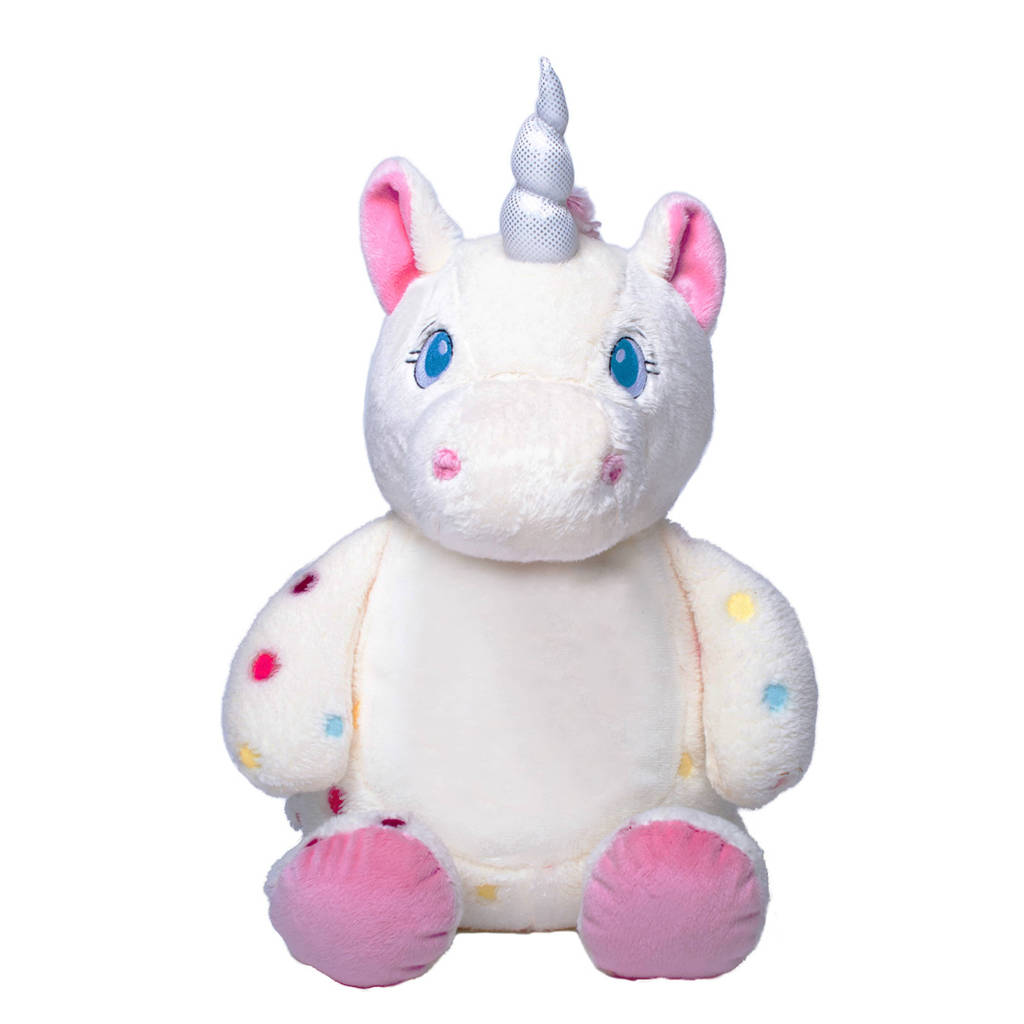 Personalised New Baby Unicorn Soft Toy By Simply Colors