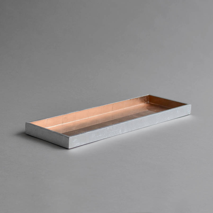 Lacquer Narrow Serving Tray By Nom Living
