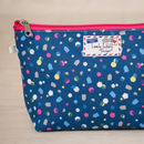 Geometric Gift Confetti Makeup Toiletry Wash Bag