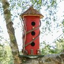 Personalised Christmas Robin Red Bird House