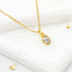 Rough Diamond Necklace - jewellery